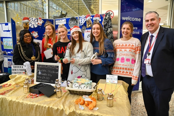 QKA Clothing.  1st place Merrion Centre Christmas Trade Fair