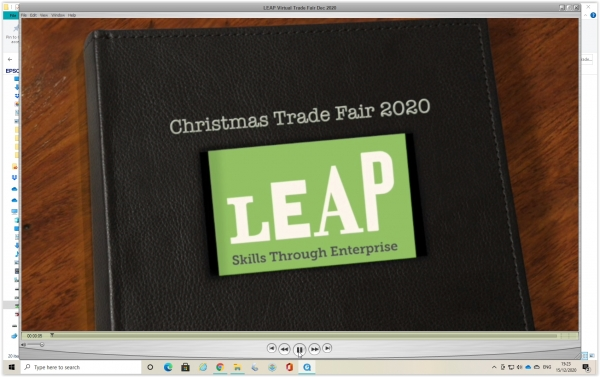 LEAP and Merrion Centre Virtual Trade Fair December 2020
